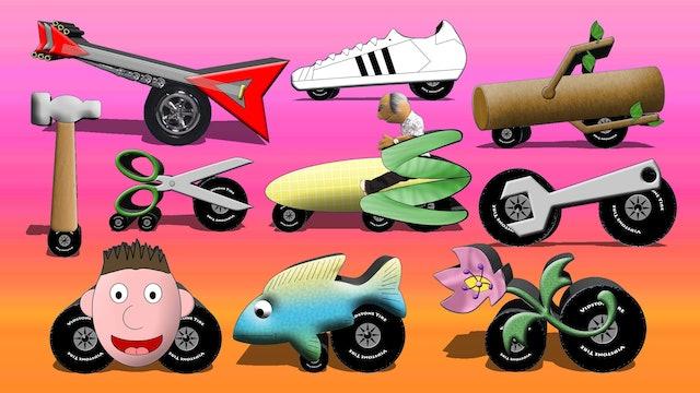 Spell The Strange Vehicles 2