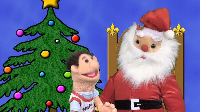 Timmy Meets Santa