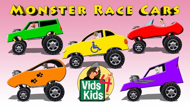 Monster Race Cars