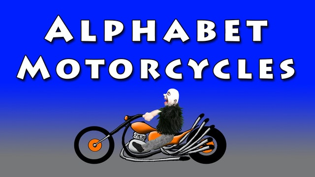 Alphabet Motorcycles