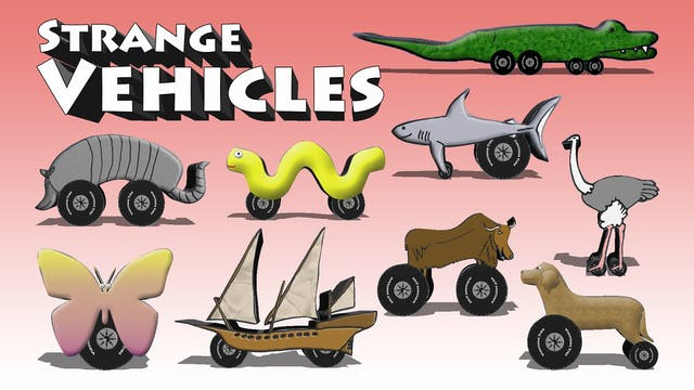 Strange Vehicles 1