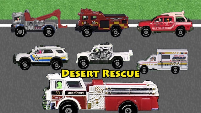Spell Rescue Vehicles