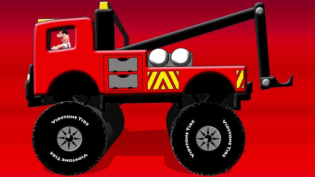 Kids Trucks Trailer
