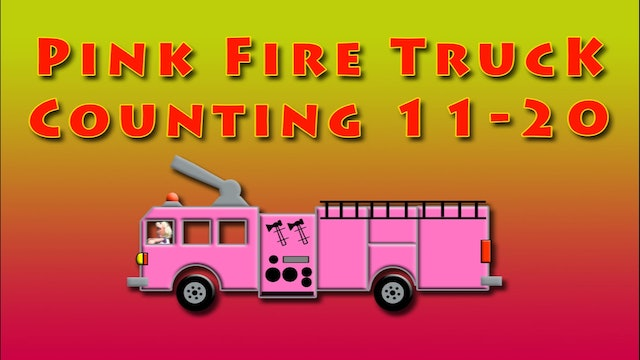 Pink Fire Truck Counting 2