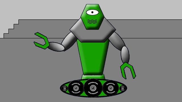 Green Robot Promo