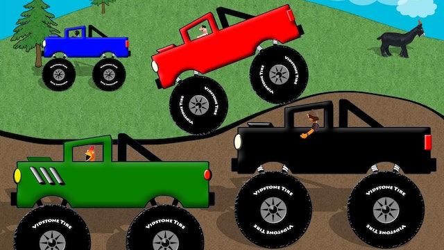 Monster Truck Colors 2