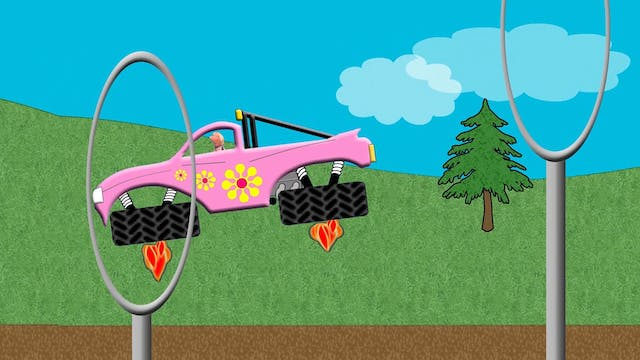 Pink Hover Truck