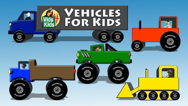 Vehicles For Kids 1