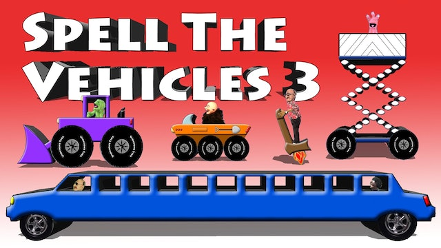 Spell The Vehicles 3