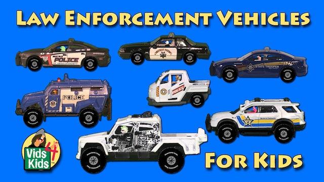 Law Enforcement Vehicles