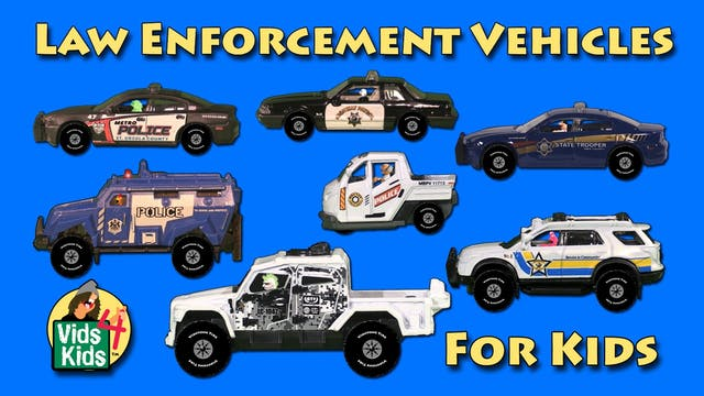 Law Enforcement Vehicles