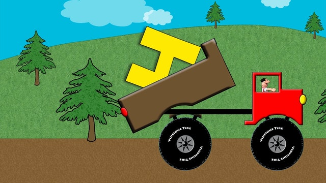 Dump Truck Alphabet