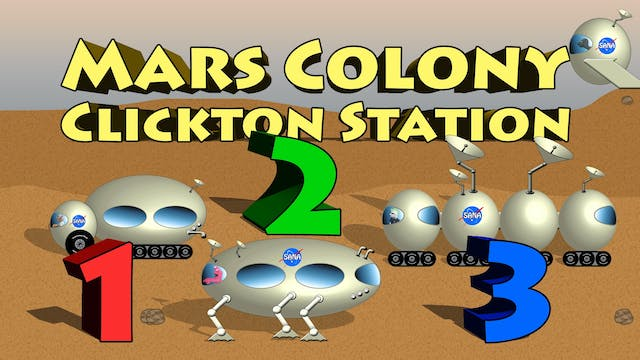 Mars Colony Clickton Station - Counting