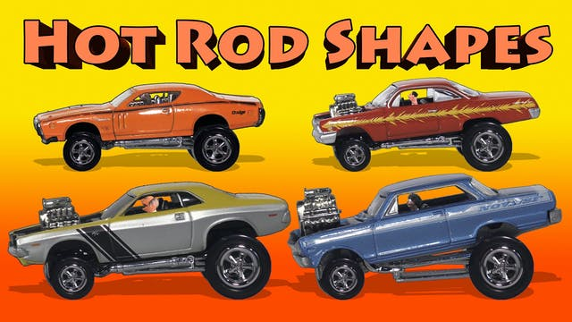 Hot Rod Shapes