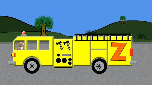 Alphabet Fire Truck