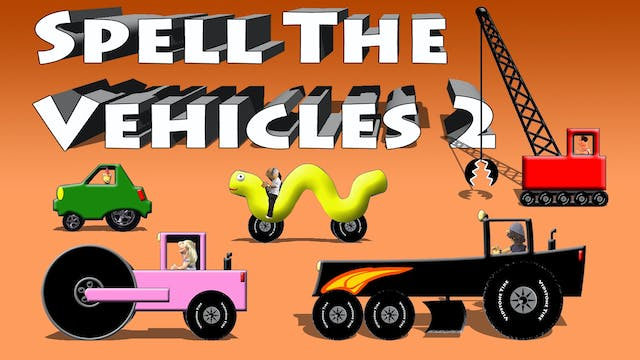 Spell The Vehicles 2