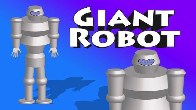 Giant Robot Car Crusher