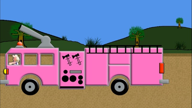 Pink Fire Truck Counting
