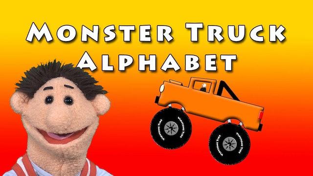 Monster Truck Alphabet
