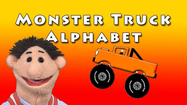 Monster Truck Alphabet