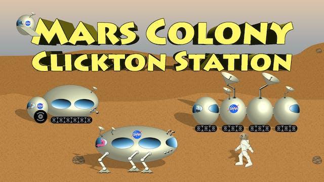 Mars Colony Clickton Station