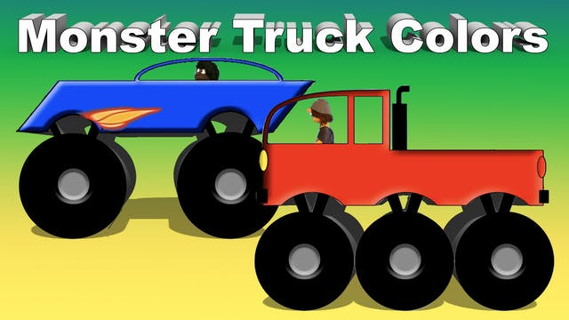 Monster Truck Colors