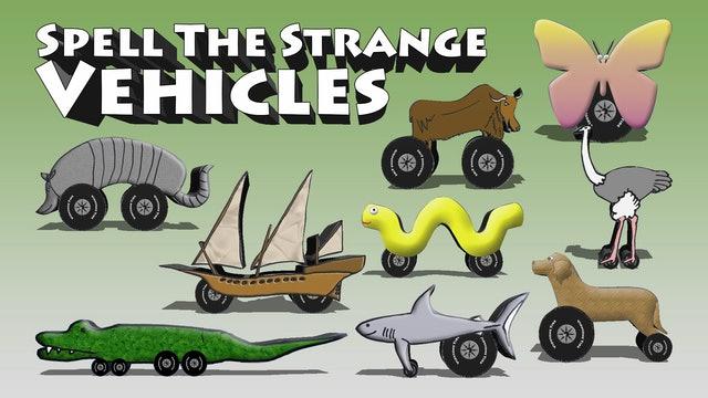 Spell The Strange Vehicles 1