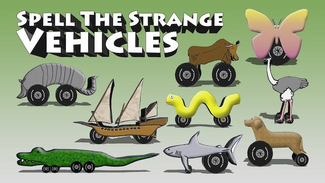 Spell The Strange Vehicles 1