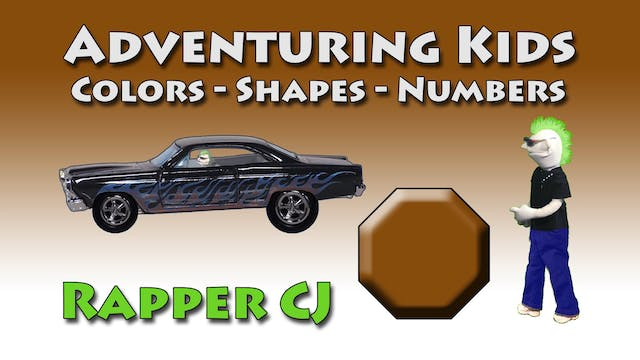 Adventuring Kids Rapper CJ
