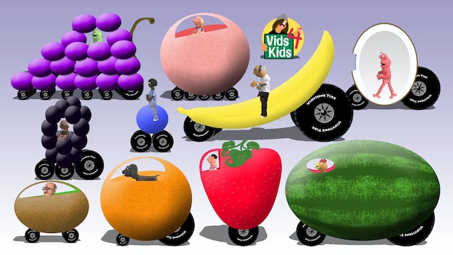 Fruit Car Colors