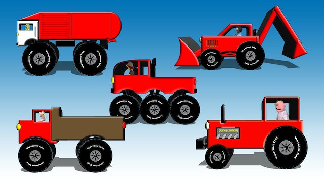 Red Vehicles