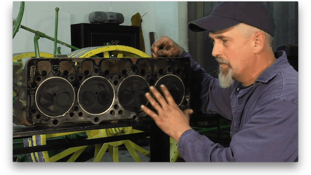 Tractor Engine Restoration: Complete Set