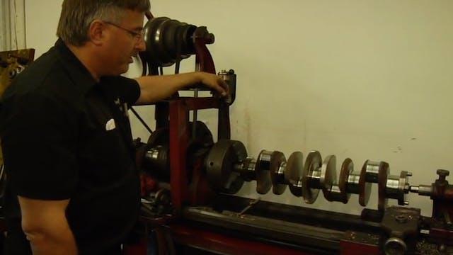 Machining Flywheel, Crankshaft, Camshaft & Engine Head