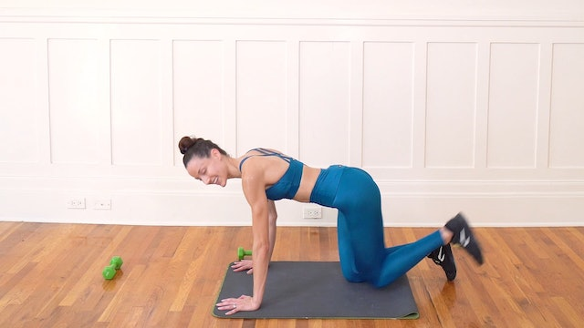 19 Minute Legs with Free Weights