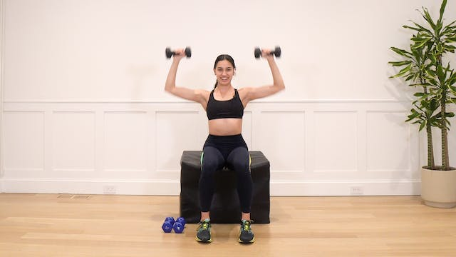 7 Minute Seated Arm Series