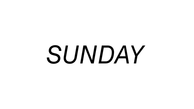 Sunday 10/3