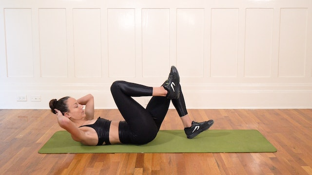 12 Minute Supine Abs