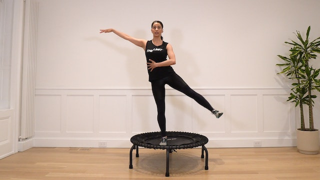 6 Minute Trampoline Stability Workout