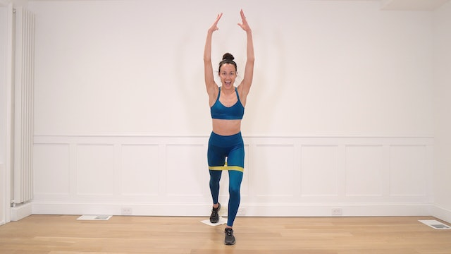8 Minute Single Leg Stability with Resistance