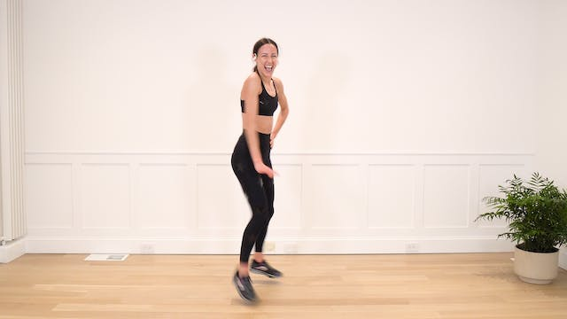 46 Minute New Year's Dance Cardio