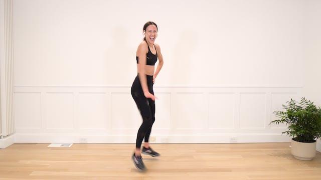 46 Minute New Year's Dance Cardio