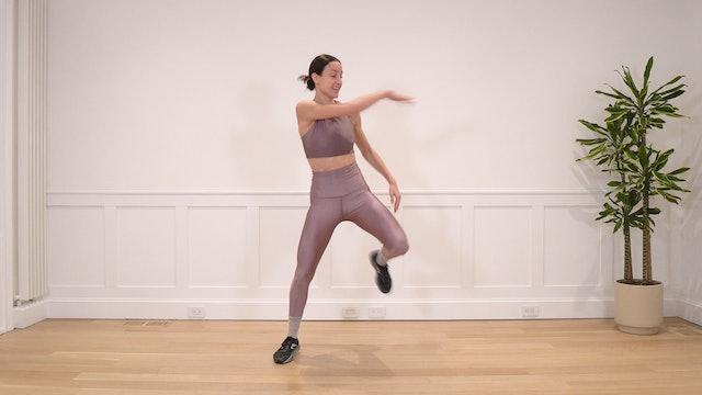 18 Minute Advanced Non-Impact Dance Cardio