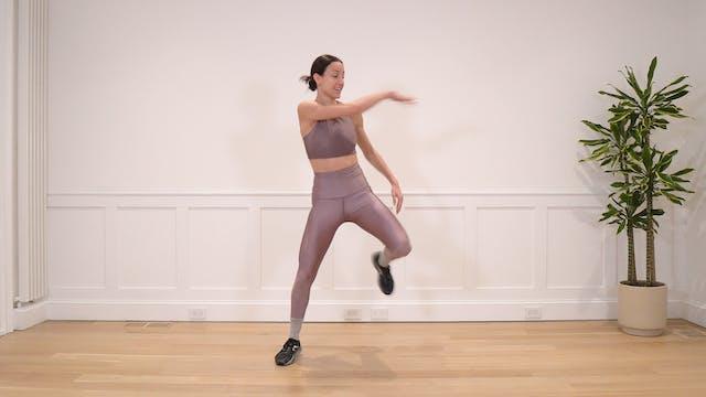 18 Minute Advanced Non-Impact Dance C...