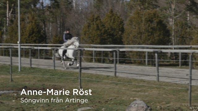 Anne-Marie Röst  Söngvinn från Artinge