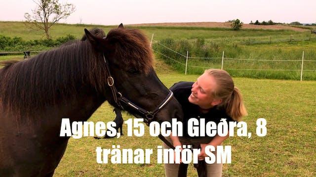Följ Agnes och Gleðra mot SM