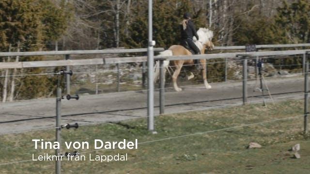 Tina von Dardel  Leiknir från Lappdal