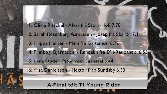 A-final Tölt T1 Young Rider