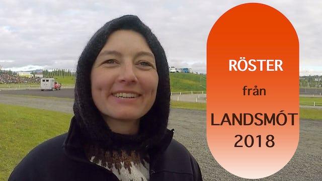 Röster från Landsmót 2018