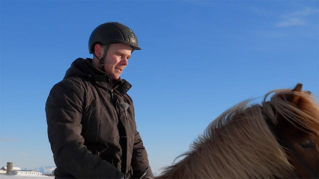 He transforms horses to stars