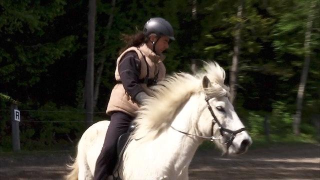 Hästen måste ge efter i nacken Del 3